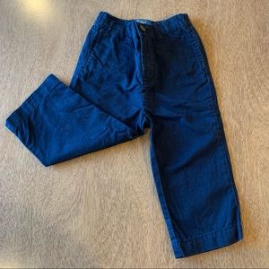 🏇🏼 2/$20 Polo Navy Blue Chino Khakis Size 18m